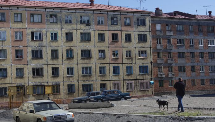 Russian cities foretold the destruction