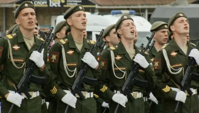 Russia's first Victory Parade was held in Petropavlovsk-Kamchatsky