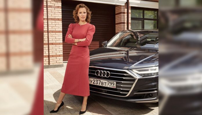 Sobchak lost the contract with Audi because of the accusations of racism and is going to sue