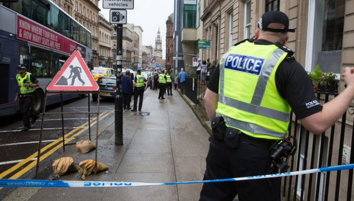 The attack in the centre of Glasgow is not considered a terrorist attack