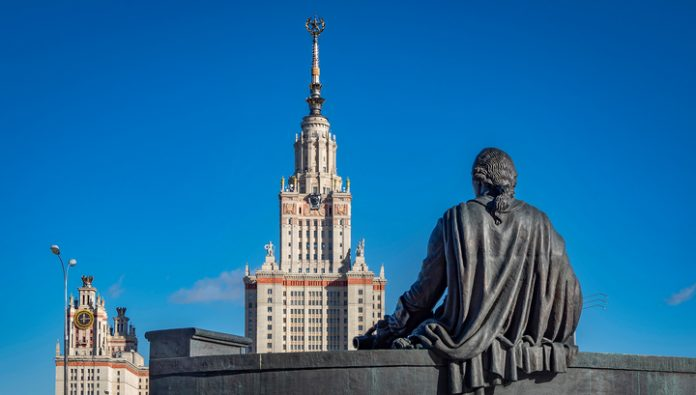 The experts of the QS World University Rankings, Moscow state University recognized the best Russian University