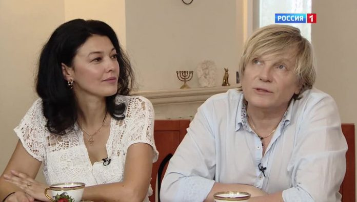 The husband of Irina Saltykova told about her tricks