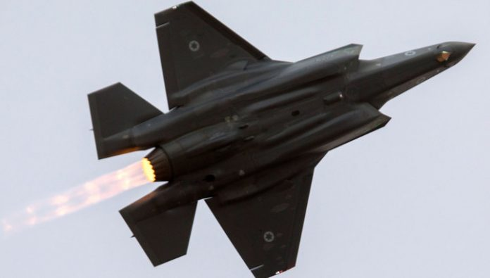 The Israeli air force attacked Syrian province