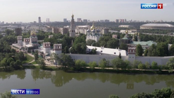 The resumption of the restoration of Novodevichy convent: how to change ultraslide Moscow