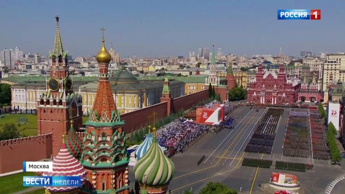 The Russian Grand celebrated 75-th anniversary of Victory