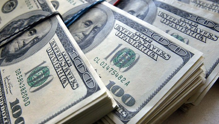 The Russians once again began to replenish foreign currency deposits