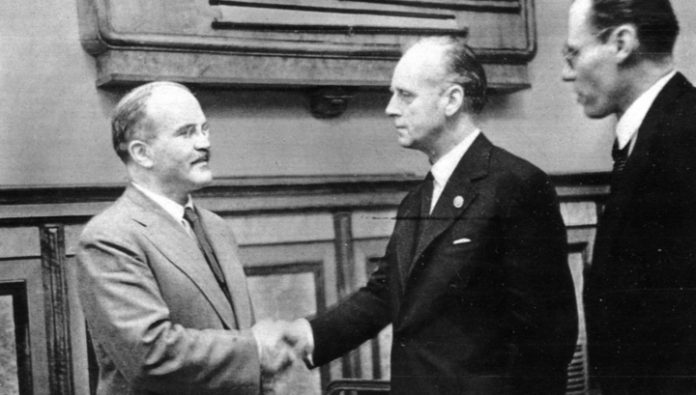 The state Duma proposes to revise the assessment of the Molotov-Ribbentrop Pact