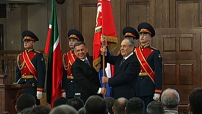 The Tatarstan President congratulated citizens on the anniversary of the Republic