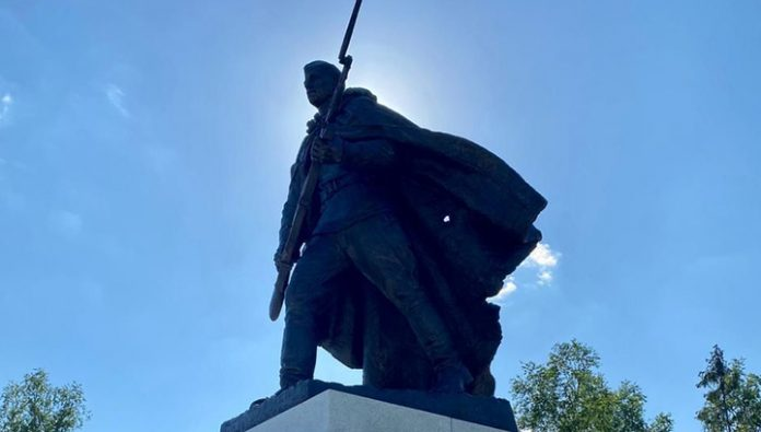 The Valley of Death has opened a monument to heroes of the great Patriotic war