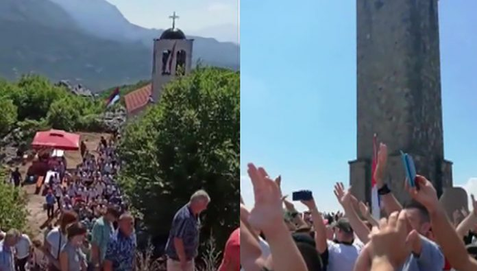 Under Pristina's Serbs have celebrated the holiday dedicated to the victory over the Turks