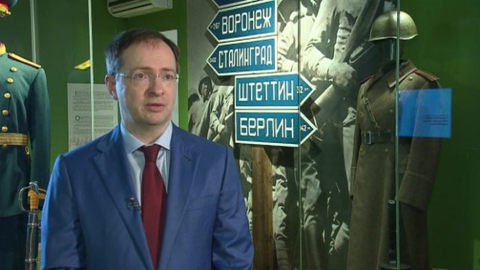 Vladimir Medinsky: exactly one hundred years ago the Red Army liberated Kiev