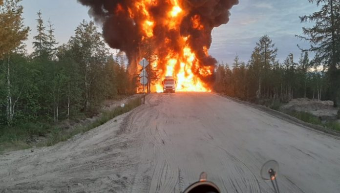 Yamal office of public Prosecutor began an investigation after the explosion of a fuel truck
