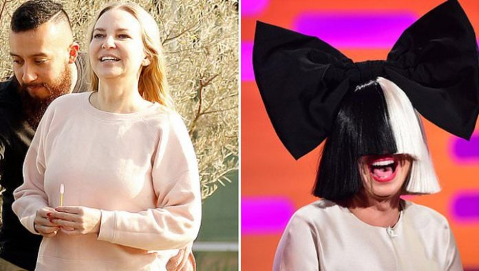 44-year-old singer Sia has suddenly become a grandmother