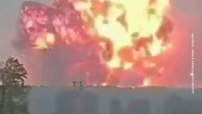 An explosion at a fireworks factory in Turkey: four people were killed, about 100 injured