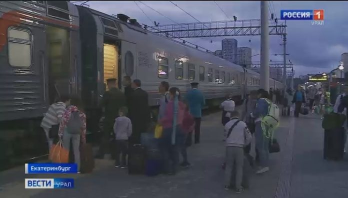 By train to the Crimea: residents of Yekaterinburg went to the sea