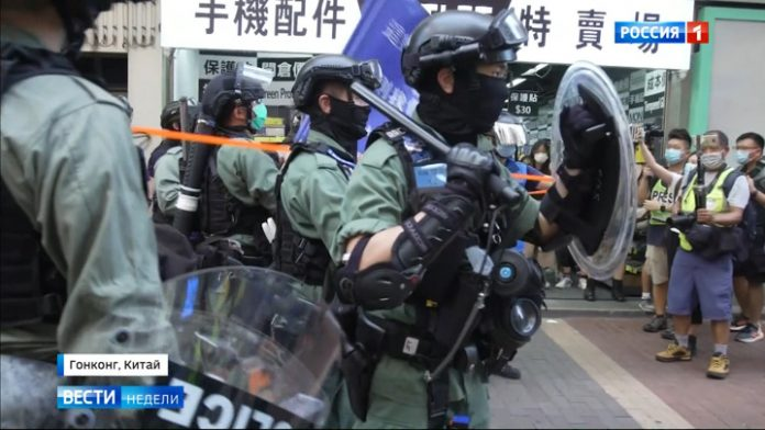 Directors of the Hong Kong riot is not even trying to disguise