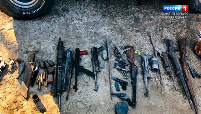 Field investigators have stopped activity of an organized criminal group which recovered the weapons during the war