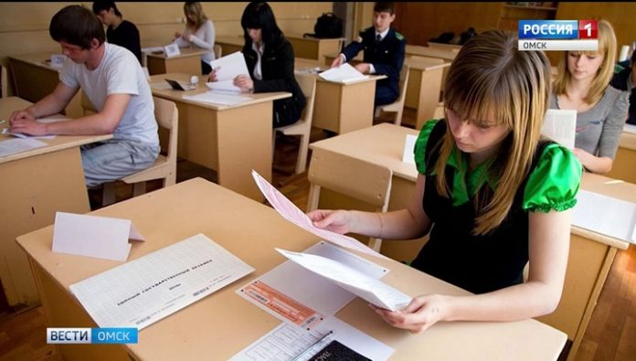 For Omsk students began a wave of final exams