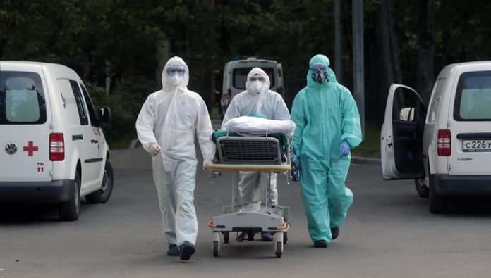In Russia, for the day of the coronavirus infected human 6632
