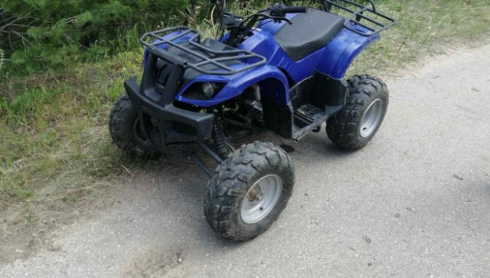 In the hospital Syzran died crashed a Quad bike woman