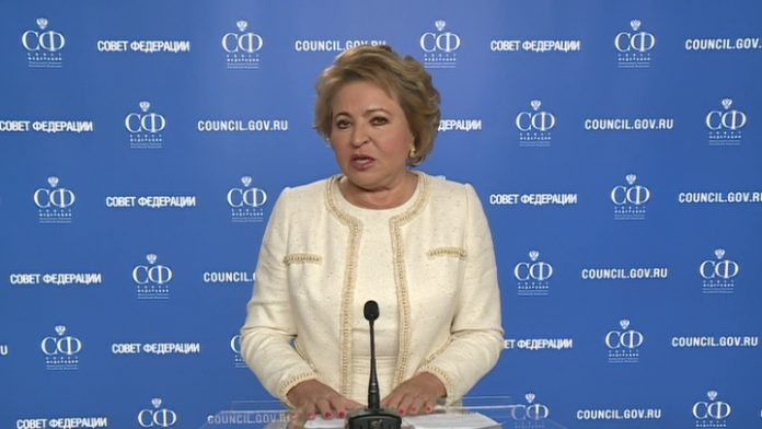 Matvienko: the laws necessary to implement the amendments can be accepted in July