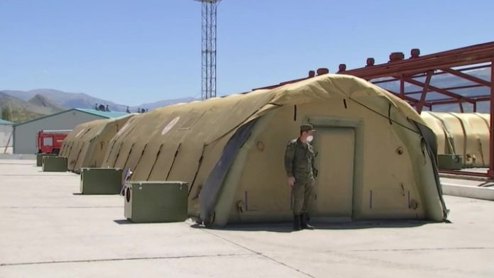Military medics rolled up field hospitals in Dagestan