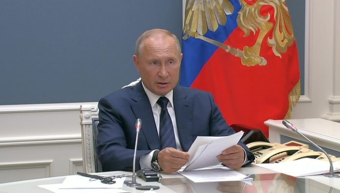Putin expressed his condolences to Rouhani and reported willingness to come