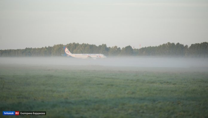 Several aircraft are unable to land in Tomsk from-for a strong fog