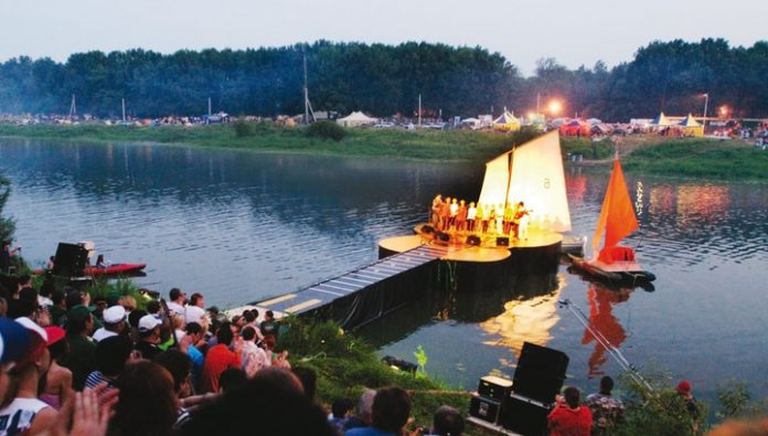 The famous Grushinsky festival was first held in online mode