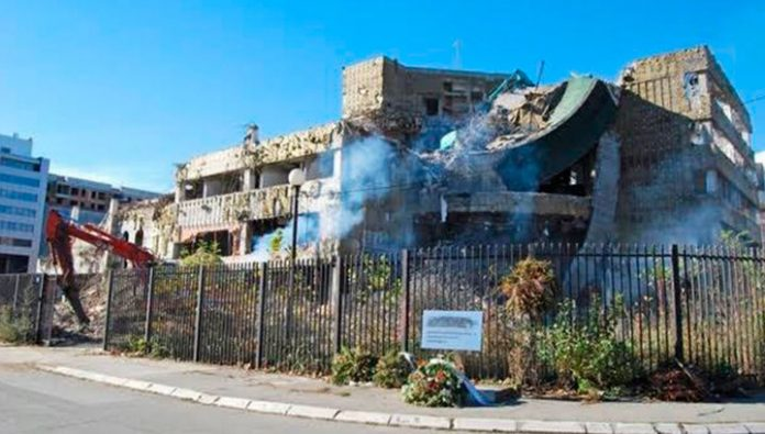 The U.S. Embassy in Baghdad fired a rocket