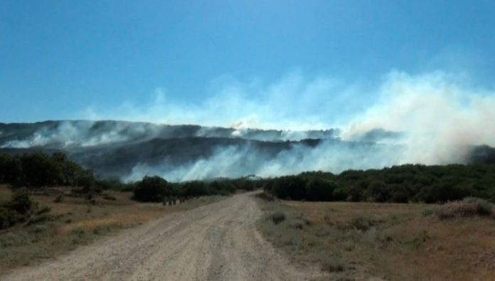 To extinguish natural fires in Dagestan helped rescuers from Rostov
