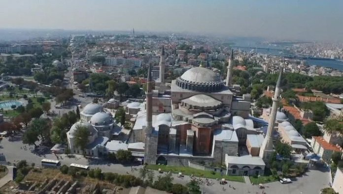 Two weeks later, the Hagia Sophia may become a mosque